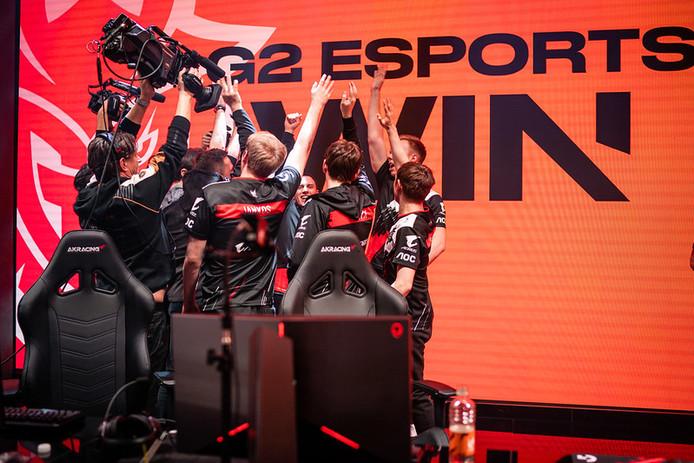 G2 Esports won afgelopen weekend van Fnatic in de LEC en nam de koppositie stevig in handen.
