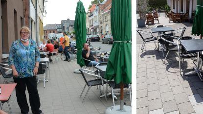 """Truckers verschuiven dagelijks terras van café Roots: """"En wij maar nauwkeurig alles afmeten"""""""