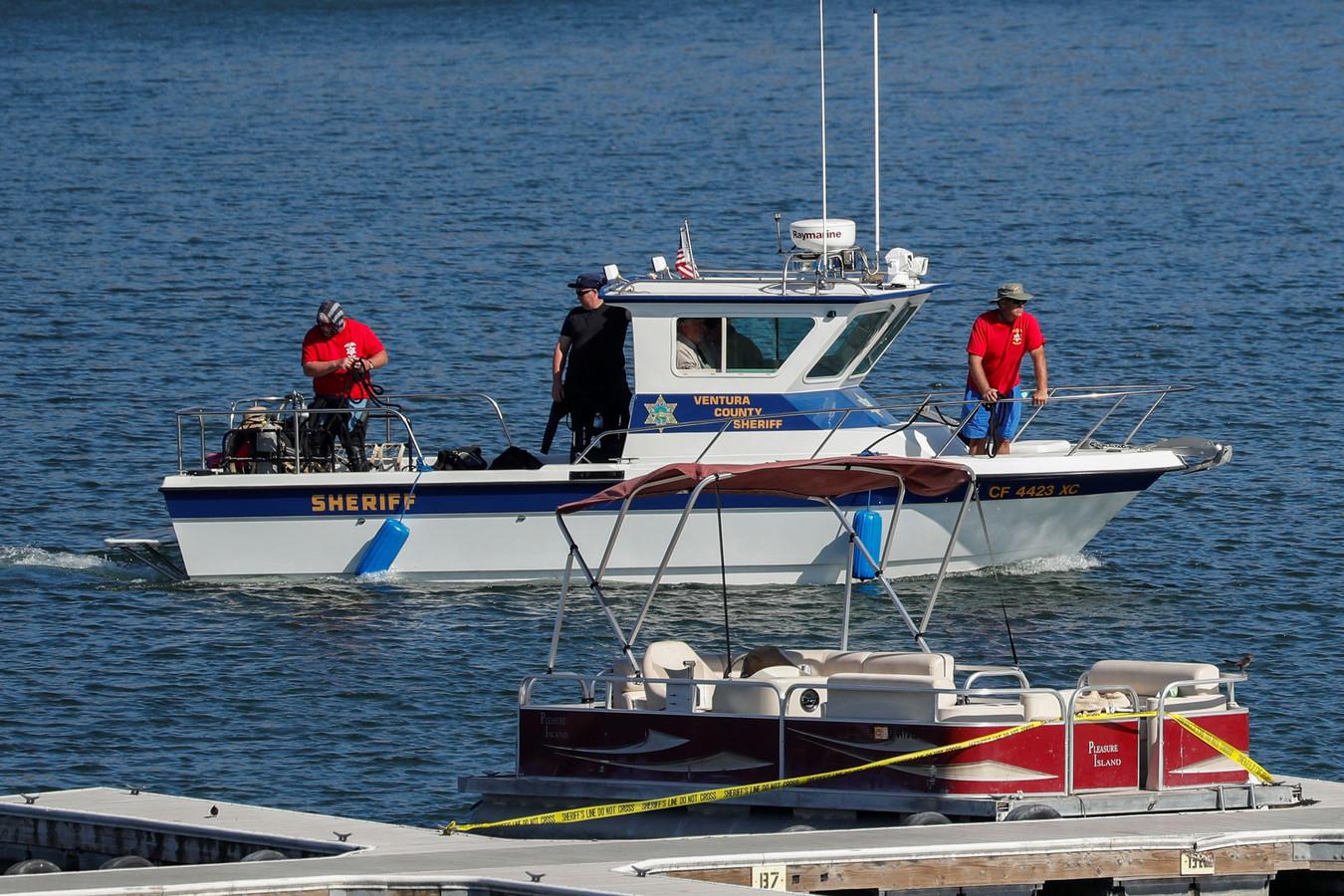 Op het water gaat de zoektocht naar Naya Rivera onverminderd door.