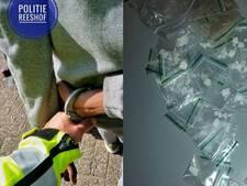 Drugsdealers in de Reeshof kiezen verkeerde vluchtroute door de brandnetels
