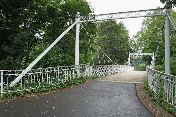 De Keiligbrug in haar huidige toestand.