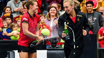 België staat in finaleweek Fed Cup: Flipkens zorgt voor beslissend punt