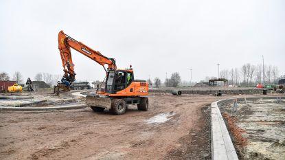 Kruispunt Hamsesteenweg volledig afgesloten door start tweede fase werken