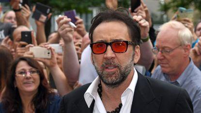 """Nicolas Cage: """"Nog drie à vier jaar en dan stop ik met acteren"""""""