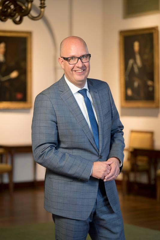Jack Mikkers de nieuwe burgermeester van Den Bosch.