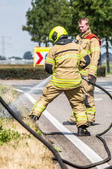 Brandweer in Groene Hart: pas nou op met die peuk in natuur!