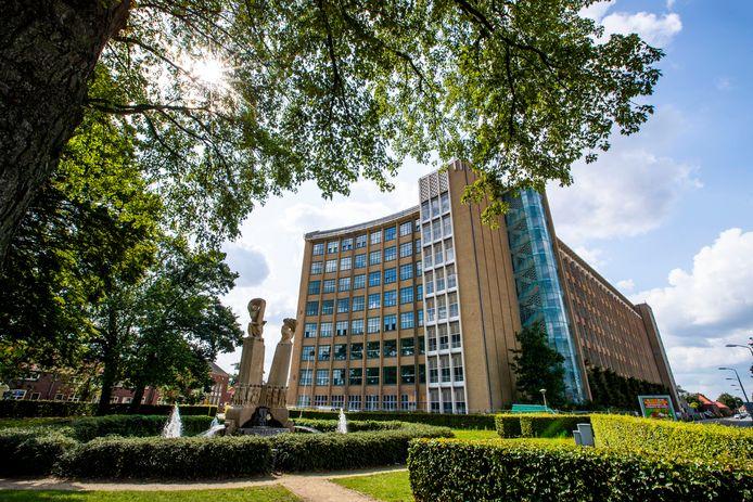De voormalige Philips bedrijfsschool aan de Frederiklaan/Kastanjelaan in Eindhoven.