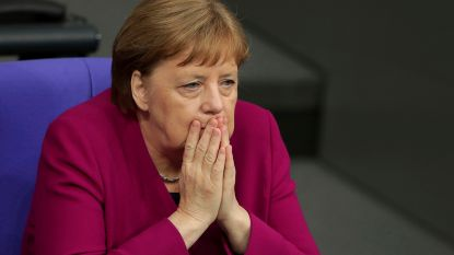 Merkel wakkert geruchten aan dat ze Europese toppositie ambieert