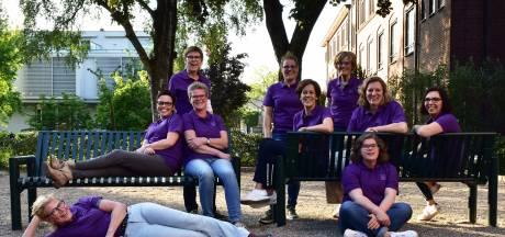 Muziekmaatjes uit Goirle met MS-Motion in rugzak op bedevaart naar Den Bosch