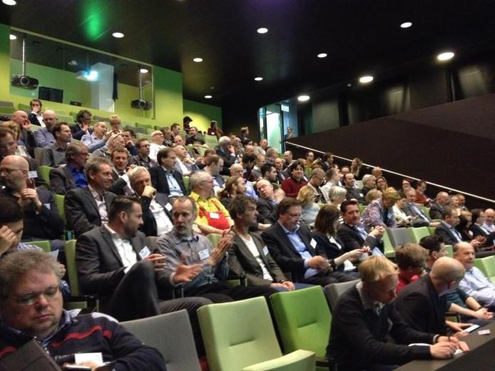 Het seminar Big Data is Big Business werd gehouden in het auditorium van het Jeroen Bosch Ziekenhuis.