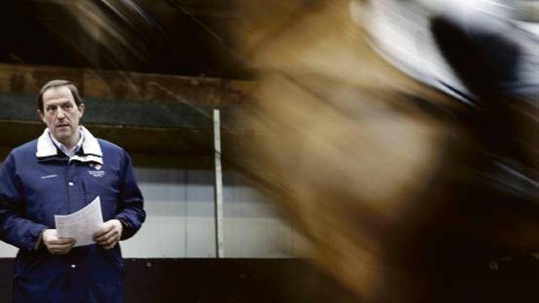 Raijmakers: 'Ik ga altijd als eerste de ring in, als verkenner voor de anderen.' ( FOTO CHRIS KEULEN) Beeld