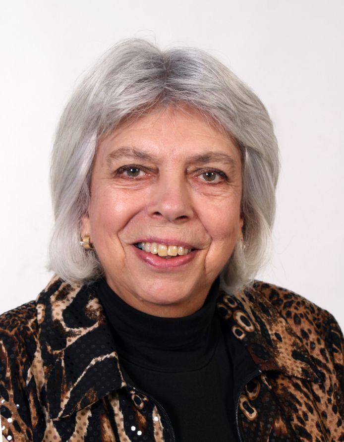 Karin Galle, de nieuwe voorzitter van de wijkraad Reeshof in Tilburg.