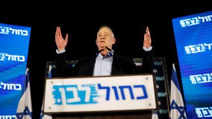 Centrumkandidaat Benny Gantz wil premier Israël worden