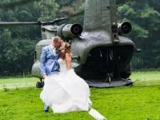 Kersverse bruid verrast man met cadeautje uit Chinook