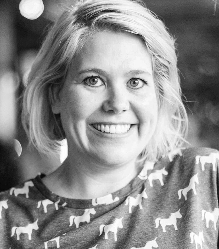 Linda Duits. Publicist, gespecialiseerd in gender en seksualiteit. Beeld
