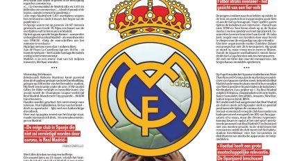 Real trotseert corona... Koninklijk