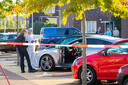 Bij de liquidatiepoging werd de Audi van Idris M. onder vuur genomen.
