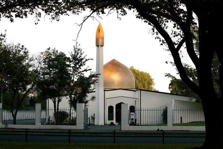 De Al Noor-moskee in Christchurch, Nieuw-Zeeland.
