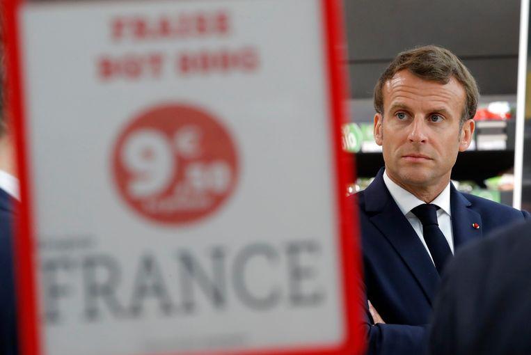 Eerder op de dag vergaderde de Franse president met verschillende verkozenen. Macron vindt het erg belangrijk het einde van de lockdown voor te bereiden met de burgemeesters, zo klinkt het.