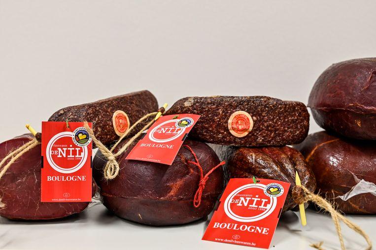 Boulogne salami en grookt paardenvlees van De Nil.