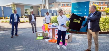 Zweten in beschermende coronapakken? Sportshirts van Singelloop Breda bieden uitkomst