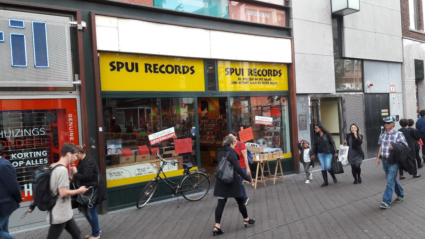 39 meest klantonvriendelijke winkel 39 spui records houdt for Reiswinkel den haag