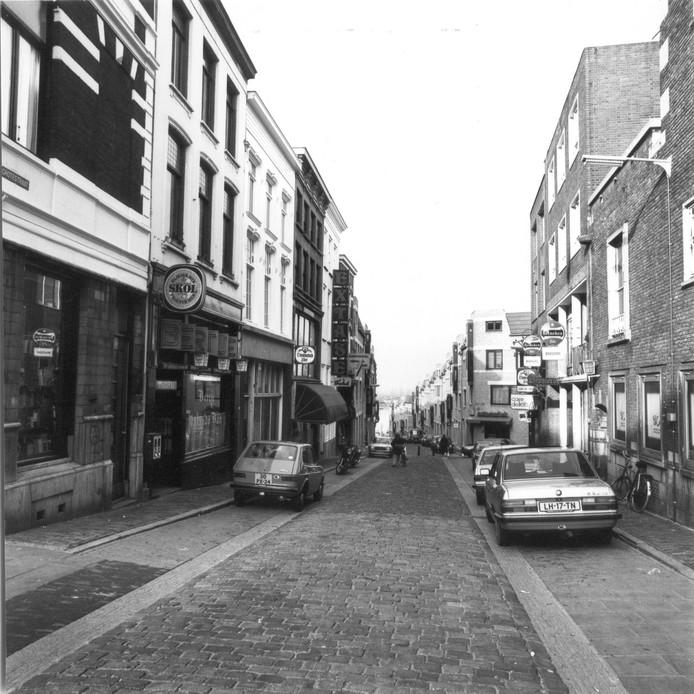 Extase in de Grotestraat in de jaren  80.