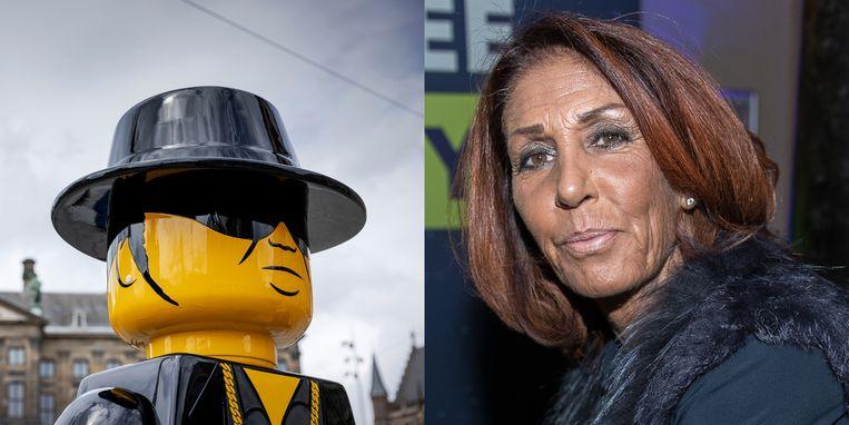 Rachel Hazes gaat een nieuw Lego-beeld van André Hazes uit eigen zak betalen.
