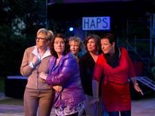 Extra tribune voor populair theater in Haps