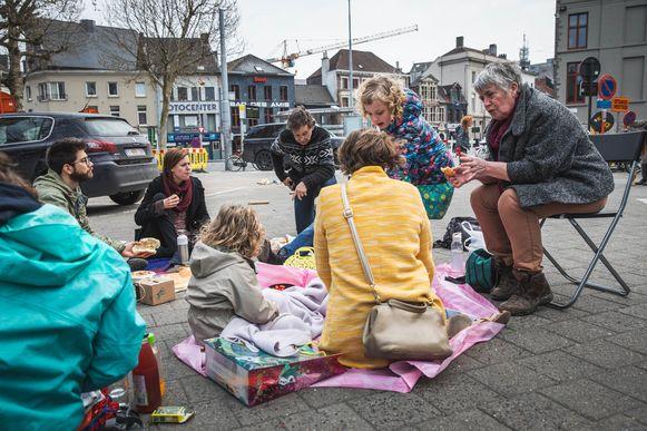 Picknick op st-jacobsplein