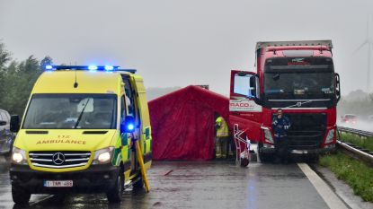 Beroerte velt trucker (59) op snelweg: twee rijstroken tijdje afgesloten