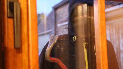 Inbrekers beschadigen raam
