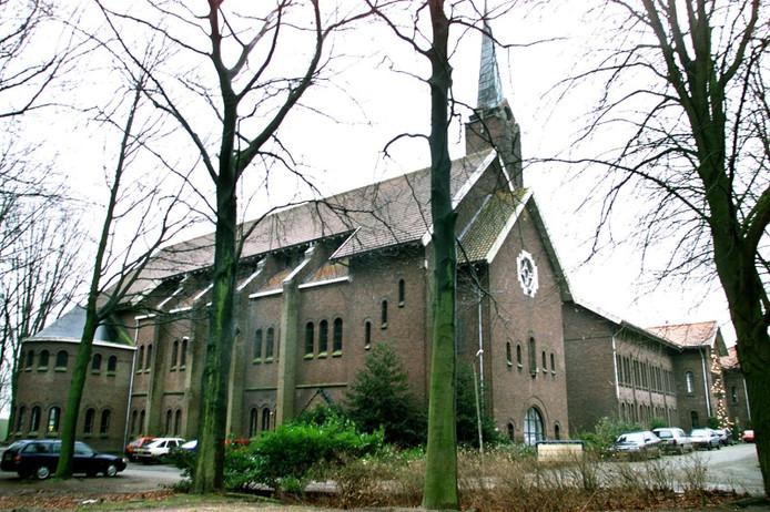 Het oude klooster aan de Schijndelseweg in Sint-Oedenrode waar Novadic Kentron verslaafden opvangt.