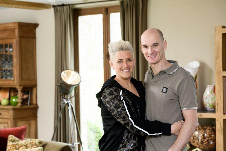 Stefan Everts met zijn vrouw Kelly.