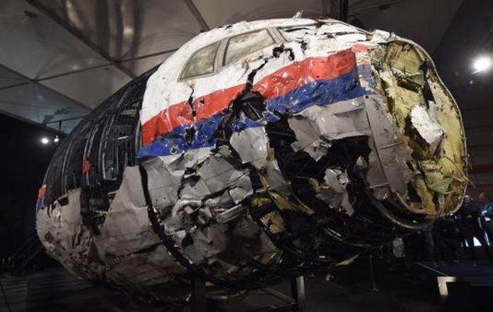 De cockpit van MH17.