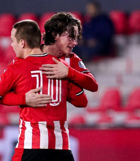 Jong PSV doet NAC in Eindhoven pijn met remise