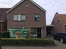Kloetinge-fans brengen nachtelijk bezoek aan huize Van Keulen