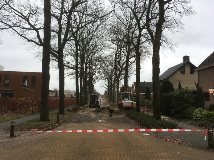 Situatie aan de Meijersweg.