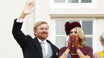 IN BEELD. Koning Willem-Alexander laat zijn baard ook op Prinsjesdag staan