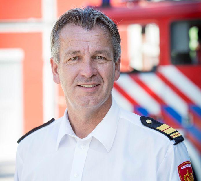 Stephan Wevers is commandant van de Brandweer Twente en operationeel leider van de crisisteam Twente.