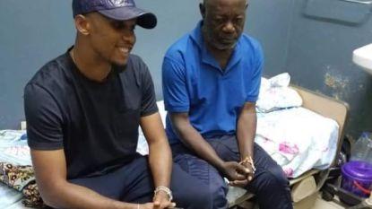 Ex-kapitein van Kameroen verliest huis en geld nadat hij gezin wil redden. Maar dan schiet ex-speler van Barça in actie