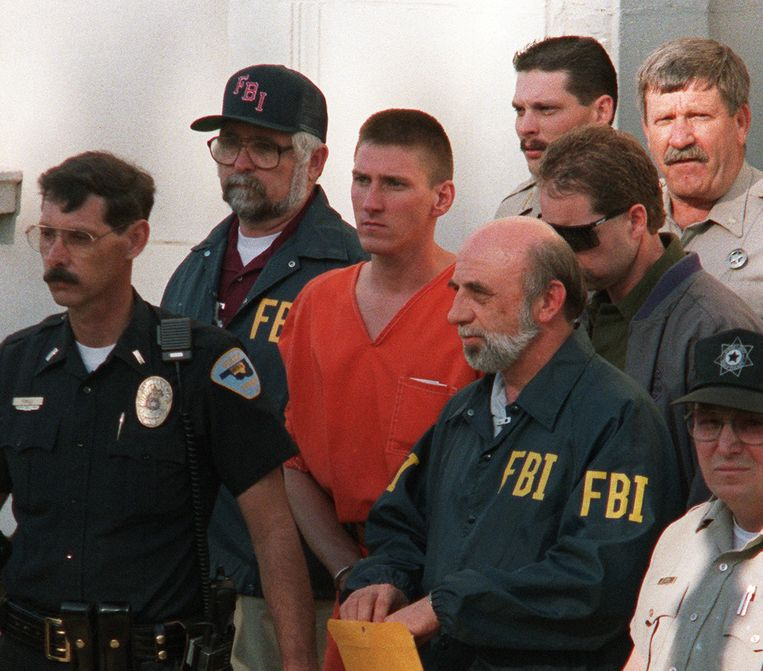 De extreem-rechtse Timothy McVeigh maakte 168 slachtoffers. Beeld ANP