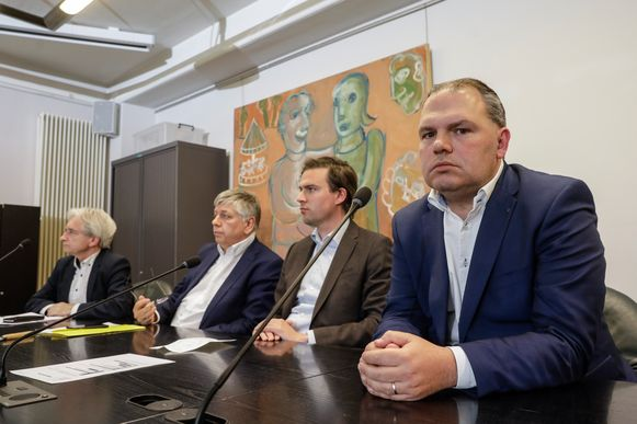 Op 16 mei kwam zelfs minister Jo Van Deurzen naar Evergem voor een stand van zaken.