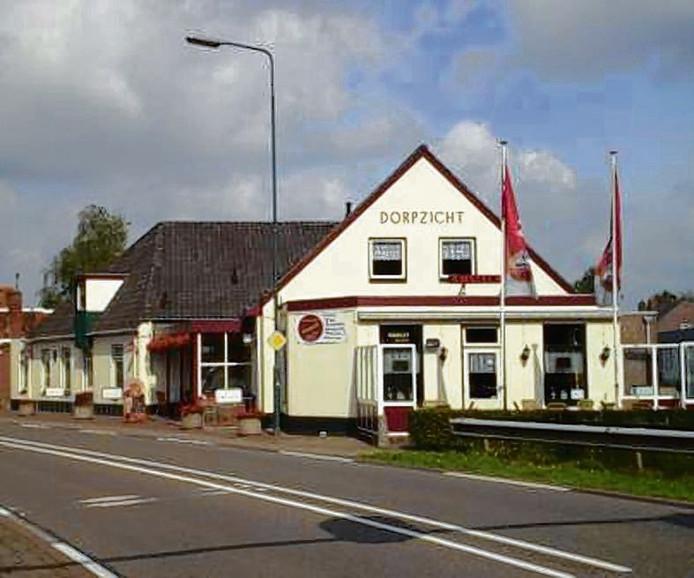 Cafézaal Dorpzicht aan de Rijksweg in Dorst sluit na bijna 130 jaar.