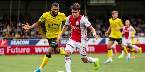 Simpele avond voor Ajax in Venlo: 1-4