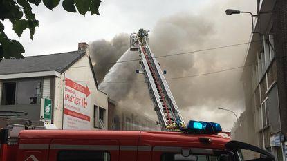 Twintigtal bewoners geëvacueerd na brand