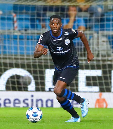 Brem Soumaoro: nog geen contract, maar al wel een vaste waarde in de basis van FC Den Bosch
