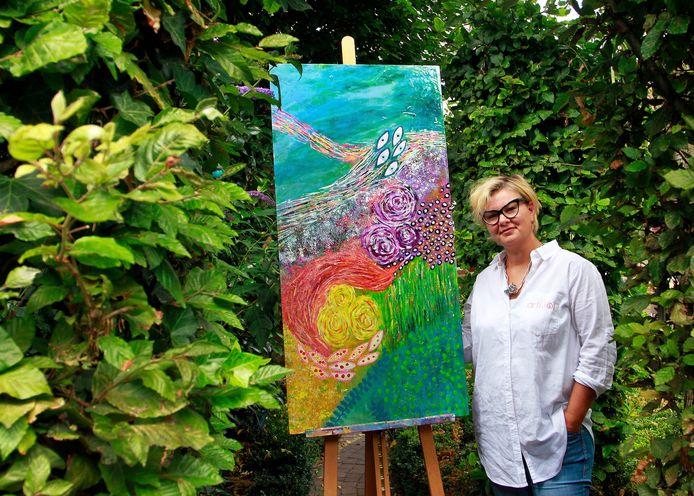 Jacqueline Braat kunstenares en eigenaar van bedrijf Arti-Tof.