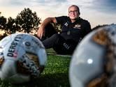 Trainer Alex Booij geniet van de jeugdigheid van Broekland