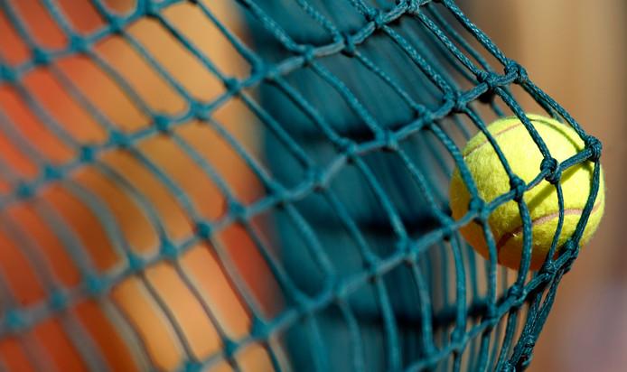 Tennis. Foto ter illustratie.